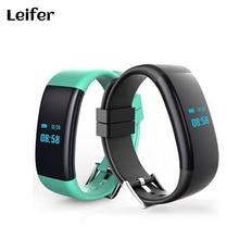 DF30 Smart Браслет Bluetooth 4.0 сердечного ритма Мониторы Приборы для измерения артериального давления Мониторы браслет IP68 Водонепроницаемый часы