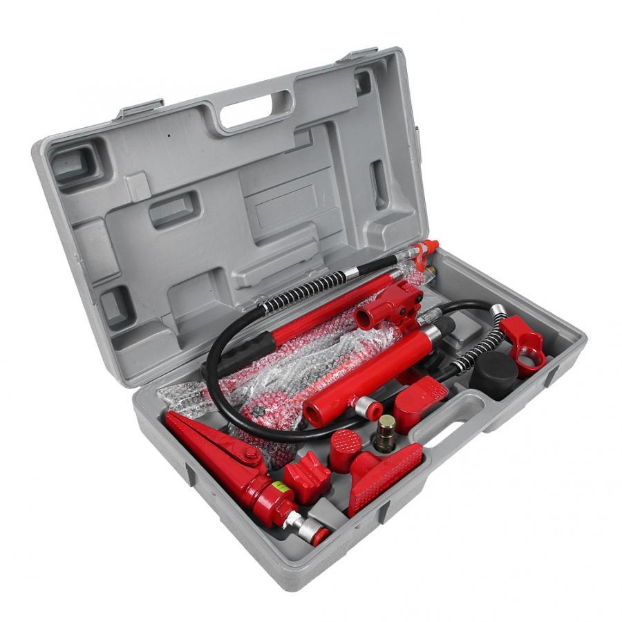 Набор для ремонта электропитания автомобиля, 1 набор, 4 тонны, гидравлическая мощность, автомобильный фургон, Джек, корпус, комплект для