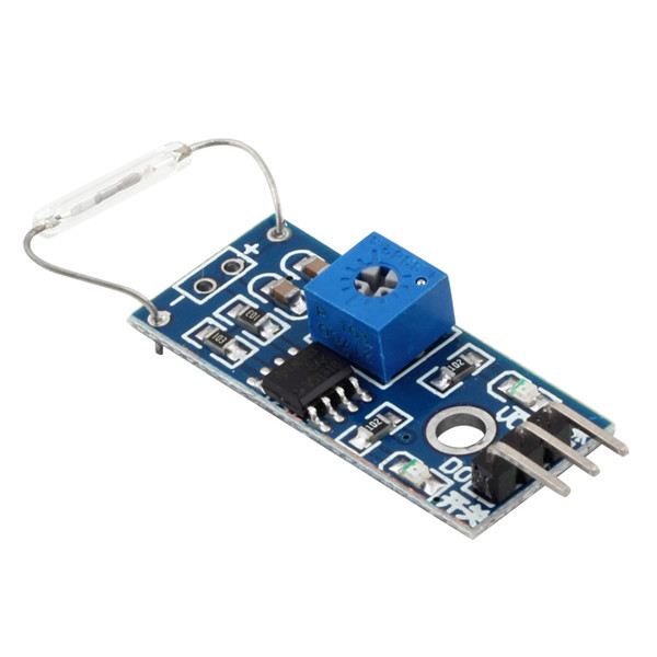 Reed Sensor Module Magnetron Module Reed Switch Magnetic Switch For font b Arduino b font Wholesale