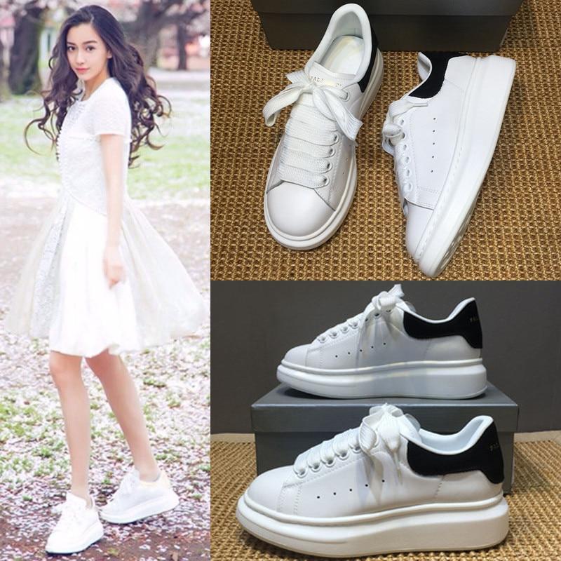 2018 3 4 Haute Qualité Cuir Casual Classique 2 Femmes En 6 Chaussures Mode 5 De Design Nouveau 9 7 Marque 1 8 rTwzqUr