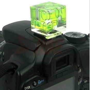 Аксессуары для камеры тройной 3-осевой пузырьковый уровень Горячий башмак адаптер для DSLR SLR камеры аксессуары для фотостудии