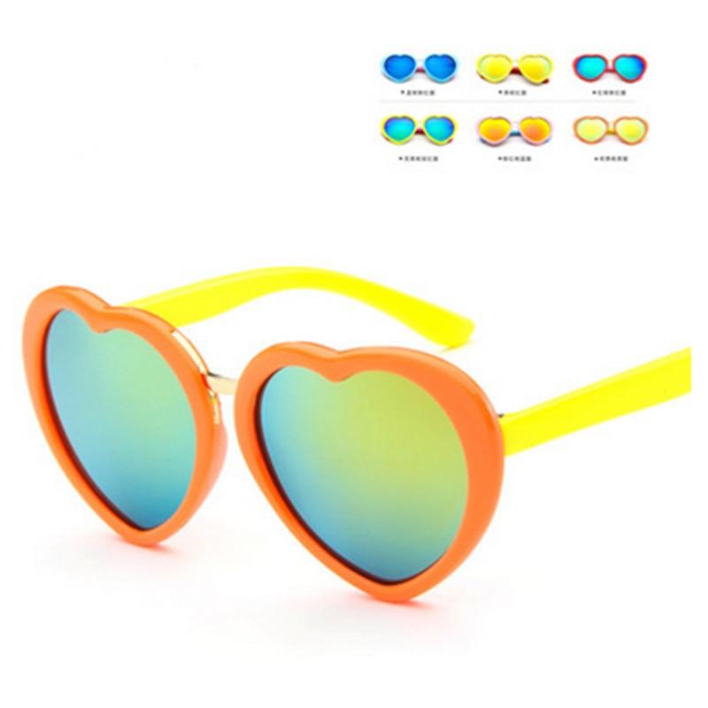 Liberal Ucool 2018 Neue Nette Mädchen Rosa Spiegel Schöne Sonnenbrille 100% Kind Baby Brillen Qualityfashionable Herzform Sonnenbrille Entlastung Von Hitze Und Sonnenstich