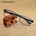 Титановые очки кадр мужчин 2016 марка ретро мода TR90 очки кадров для женщин близорукости компьютер оптических стекол