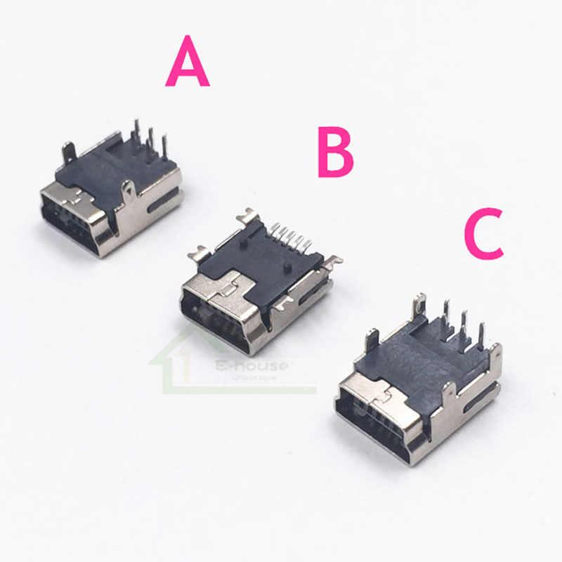 40 PCS Mini USB Pengisian Port Soket Soket Pengisi Daya Mendongkrak Penggantian untuk PS3 Pengendali Perbaikan Bagian