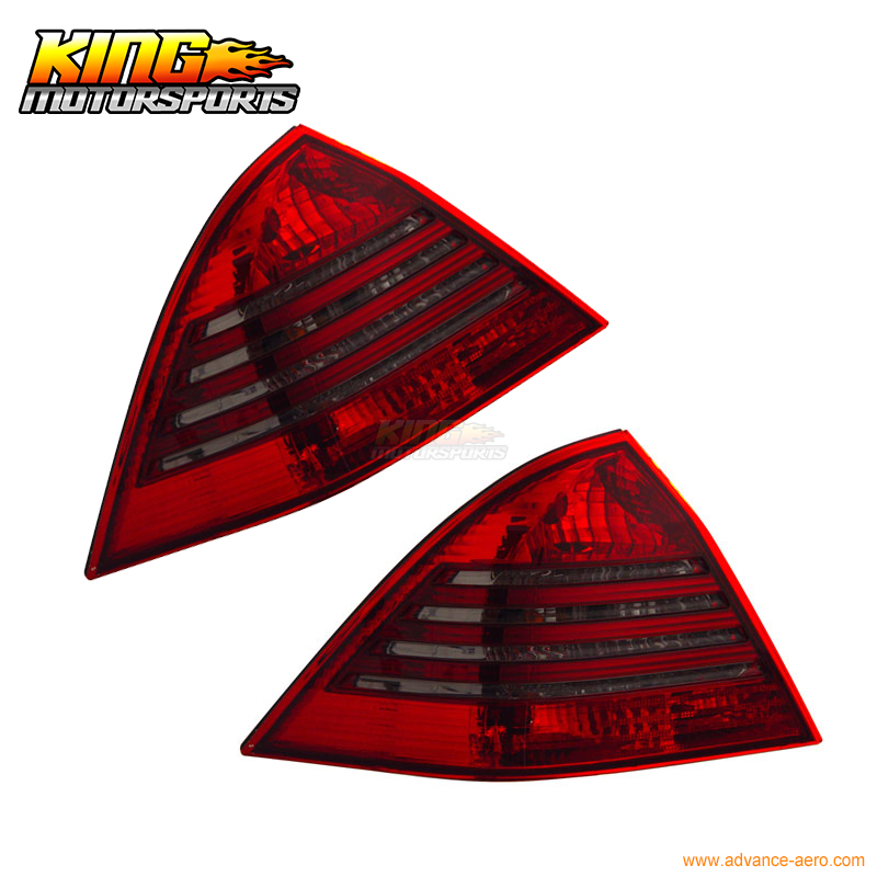 For 2000-2004 Mercedes-Benz C Class W203 Tail Lights Red Smoke 01 02 03 USA Domestic Free Shipping 4 door mercedes m class 1998 2004 nld smerm9832