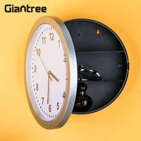 giantree Secret Safe box Wall Clock Lock Box Money Jewellery Mechanical Storage Box Stuff Creative Home Gifts Home decoration
