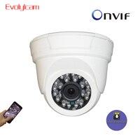 Evolylcam 1080P 2MP/ 960P 1.3MP/ 720P 1MP Micro SD/TF card slot HD Audio IP Camera Dome CCTV Camera Onvif P2P Security CamHi Cam