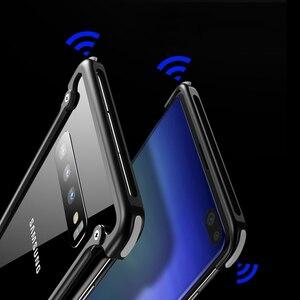 Image 5 - Original Aluminum Metal Bumper Case For Samsung Galaxy S10e Luxury Slim Hard Airbag Drop Protection Case for Samsung S10e Cover