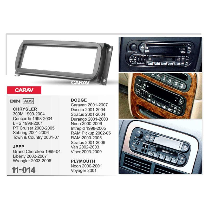 with Pocket 8X CARAV 11-178 1-DIN Marco de pl/ástico para Radio para A1 2010