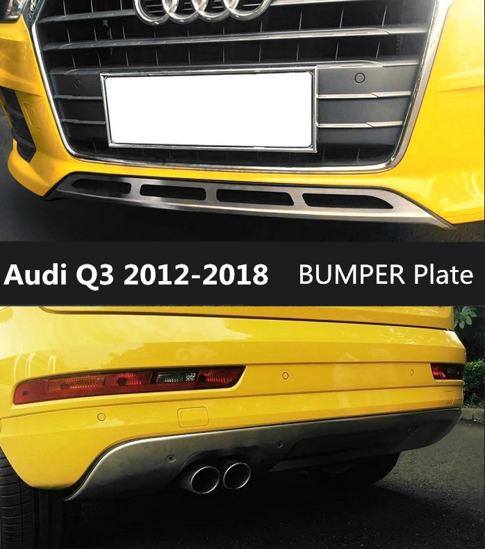 Audi Q3  Car Boot Liner and Bumper Flap