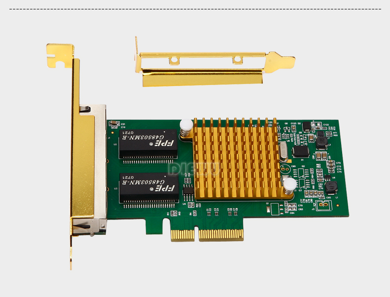 US $86 98 |Intel i350 t4 pci express lan nic card-in Network Cards from  Computer & Office on Aliexpress com | Alibaba Group