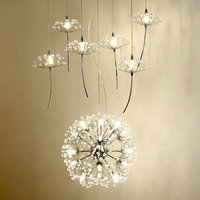 Led Lamp Modern Crystal Chandeliers Decor Home Lighting Fixtures For Living Room Bedroom Foyer Kitchen Lustres