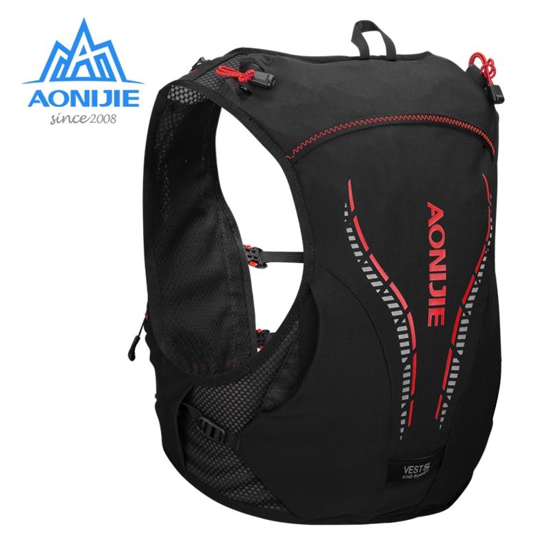 AONIJIE C950 5L Lightweight Backpack Hydration Pack Rucksack Bag Vest Harness Water Bladder Hiking Running Marathon Race