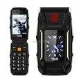 2.8 Дюймов Двойной Экран Dual SIM Карты Trans X10 Power Bank 4800 большая Батарея Флип Телефон Воспроизведение Mp3 1 камеры Раскладушка ПРОТИВ Rover X9