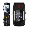 2.8 Inch Dual Screen Dual SIM Cards Trans X10 Power Bank 4800 Big Battery Flip Phone Mp3 Playback 1 camera Clamshell VS Rover X9