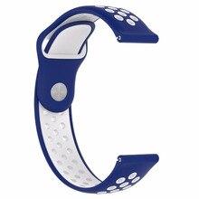 Samsung galaxy vigilanza del silicone attivo sport cinturino cinturino di vigilanza per Samsung Gear Sport/S2 classico Huawei watch2/watch2 pro