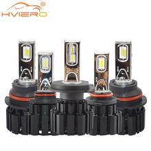 2X H4 H7 9012 5202 H16 H8 100W 13600Lm IP67 Auto Led Front Bulb Automobile Headlamp Fog Light 6000K Car Lighting HID Blubs