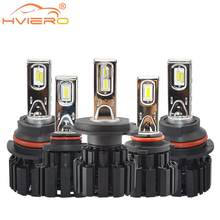 2X H4 H7 9012 5202 H16 H8 100W 13600Lm IP67 Auto Led Front Bulb Automobile Headlamp Fog Light 6000K Car Lighting HID Light Blubs(China)