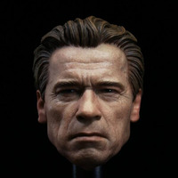 1/6 Scale The Matrix Keanu Reeves War Damage Edition Have a neck Head Sculpt Headplay for 12 Action Figure Body