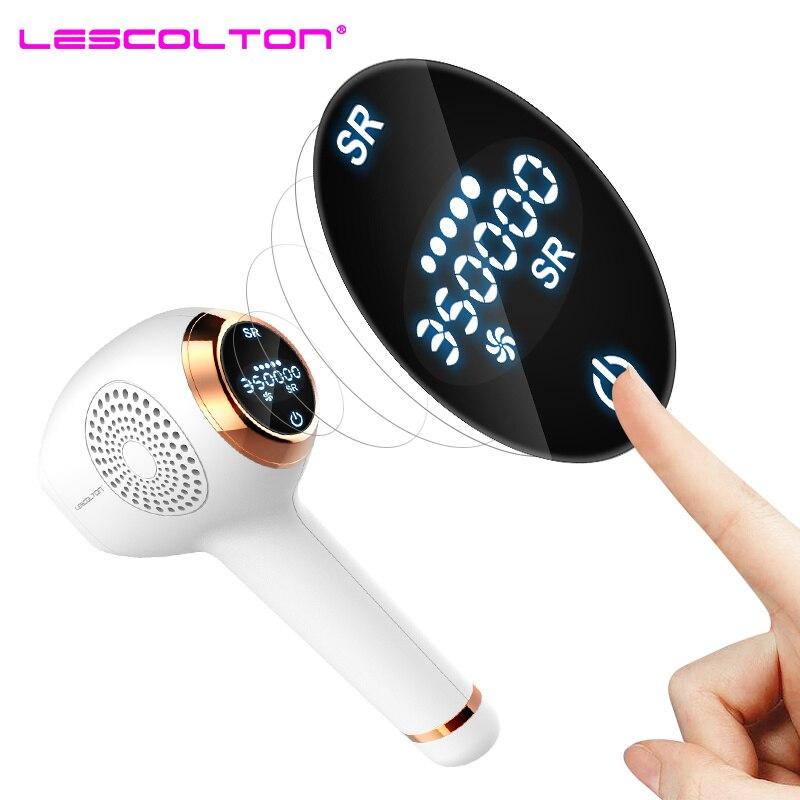 NEW Lescolton IPL Epilator Permanent Laser Hair Removal LCD Display 350000 Pulses depilador a laser Bikini Trimmer Photoepilator