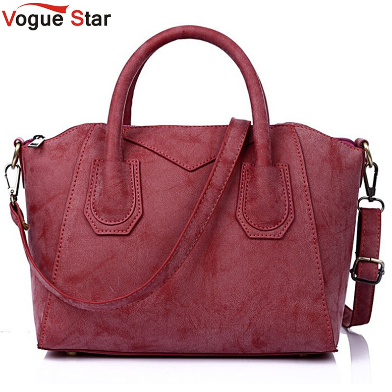 Vogue Star Women handbag for women bags matte leather handbags brand women's pouch bolsas smile bag high quality pouch LS344