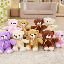 Wholesale 5 Pieces A Lot 30/35 Cm Soft Plush Bears Toy Stuffed Animal Teddy Bear Bed For Childrens Gift