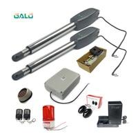 Swing Gate Opener/With wifi camera kit Optional Doulbe Arm Heavy Duty Worm Gear Automatic Swing gate motor