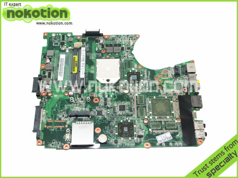 NOKOTION A000076380 Laptop motherboard For Toshiba Satellite L655D L650D Socket s1 ddr3 DA0BL7MB6D0