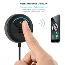 Bluetooth Wireless 4 AUX 3.5mm kit de reducción de ruido para llamadas con manos libres música recepción de doble puerto de carga USB