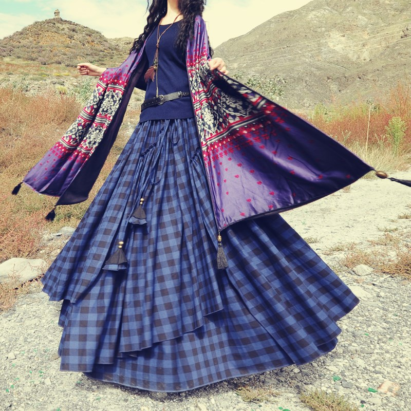Popular Long Skirts Cotton-Buy Cheap Long Skirts Cotton lots from ...