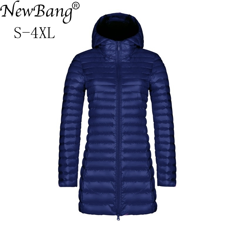 NewBang Brand Womens   Down   Jackets Female Long Winter Warm   Coat   Ultra Light   Down   Jacket Women Lightweight Warm Women's Overcoats