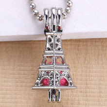 6pcs Bright Silver Eiffel ออกแบบ(China)