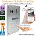 Глобальный 3G/4G беспроводной сенсорный экран WiFi видеодомофон встроенный дверной звонок ip-камера домофон