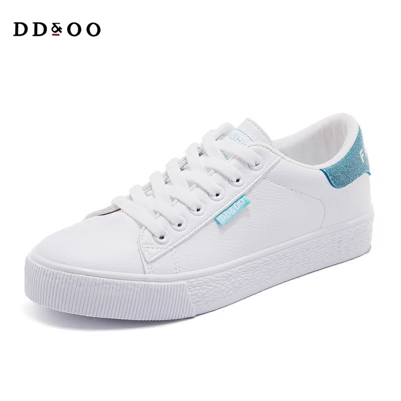 2017autumn new fashion women shoes casual high platform solid color PU leather women casual white shoes sneakers spring free shipping 2017summer autumn new fashion women shoes casual flats solid breathable simple women casual white shoes sneakers