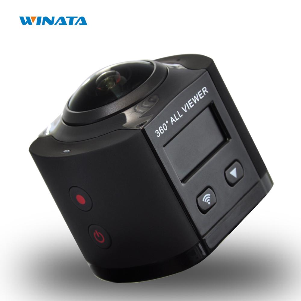 4K Camera 360 Wifi Mini Action Camera 2448 2448 Ultra HD 360 Panoramic Camera Sport Driving