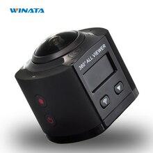 4พันกล้อง360 Wifiการกระทำมินิกล้อง2448*2448อัลตร้าHD 360กล้องพาโนรามากีฬาการขับรถ360 VRกล้อง