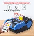 Etiqueta portátil Bluetooth impresora de etiquetas de mano Etiqueta de tienda de ropa Mini máquina de etiquetas conectable aplicación móvil impresión 58mm