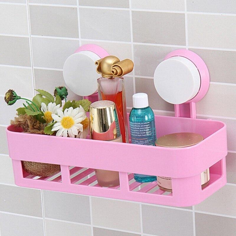 Hot Shower Corner Shelf Organizer Holder Bath Storage Holders ...