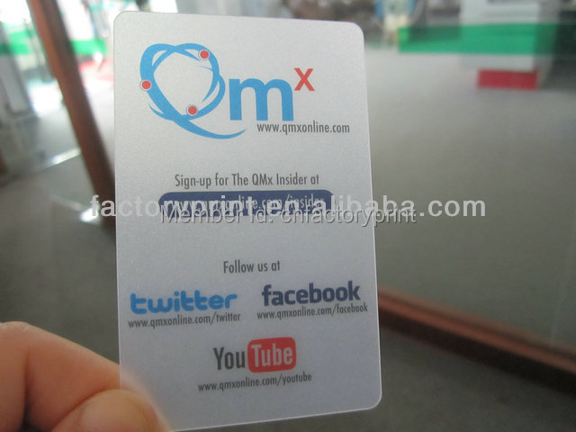 Pvc transparent business cards plastic clear business cards in pvc transparent business cards plastic clear business cards colourmoves
