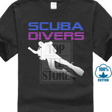 Mouw Tops T-shirt Homme Nieuwe Cave Duikers Dive Diver Speleologie Heren T-shirt(China)