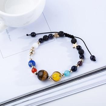 BOEYCJR 9 Planets Pluto Universe Bangles & Bracelets Fashion Jewelry 3