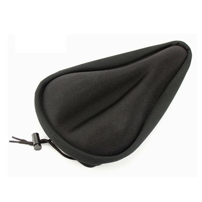 Silicone MTB Cycling Bicycle Bike Saddle Seat Cover Silica Gel Cushion Soft Pad