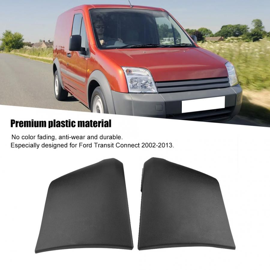 LH /& RH PAIR of Ford Transit Connect Rear Bumper End Cap 2002-2013