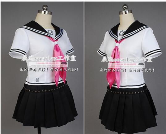 Anime Super Dangan Ronpa 2 Danganronpa Ibuki Mioda Cosplay Costumes Suit Skirt Halloween For Women