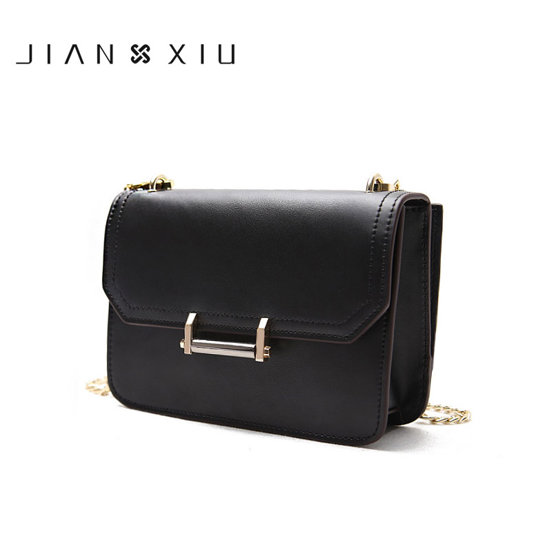 JIANXIU Brand High Quality Women Messenger Bags Sac Bolsa Bolsos Mujer Tassen Shoulder Crossbody Chain Small Split Leather Bag flower princess crossbody bags for women embroidered nylon shoulder bags schouder tassen dames ladies messenger bolsos mujer