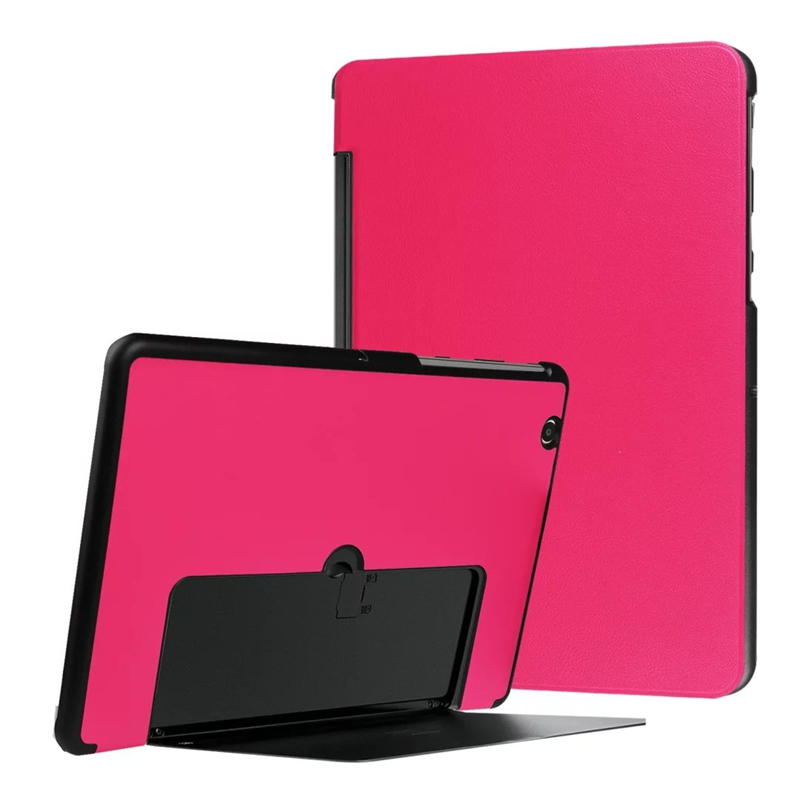 Ultra Slim Tri-Fold PU Leather Case Stand Cover for LG Gpad G Pad 3 G PAD3 10.1 V755 Tablet 100pcs