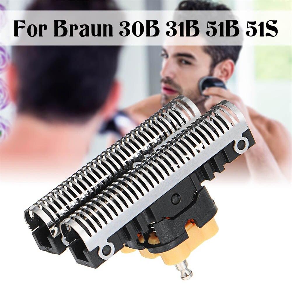 Hot New Cabeça Navalha de Barbear Cabeça Substituição Compatível Braun 5 Série 30B 31B 31 S 51B 51 S HY99 DC25