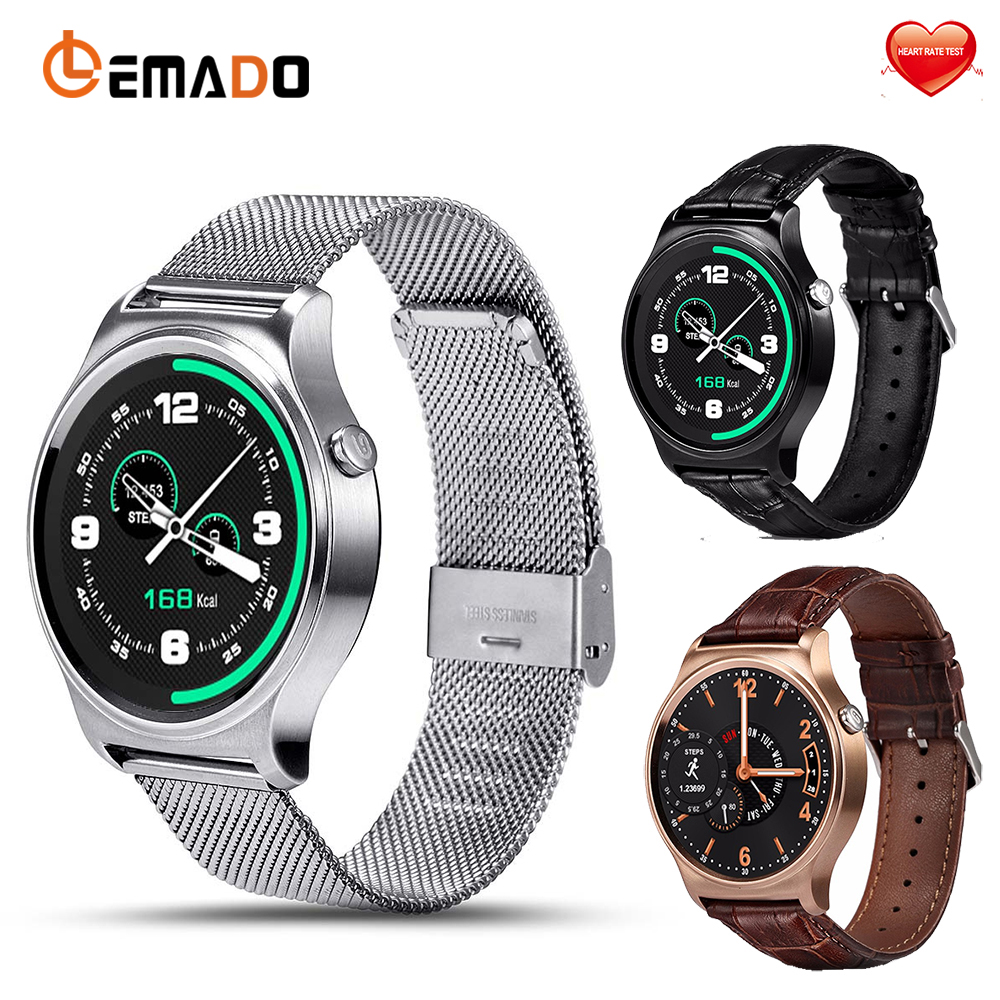 Lemado GW01 Bluetooth Smartwatch Smart watch with Heart rate monitor Remote Camera wristwatch for apple huawei IOS Andriod OS lemado bluetooth smart watch heart rate monitor message push blood pressure oxygen smartwatch for apple samsung gear s3 phone