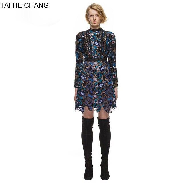 Fashion Runway Vintage Mini Lace Dress 6027199