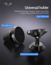 цена на Car Universal CellPhone Holder Magnet Air Vent Mount car holder For iphone 6 7 8 x Samsung huawei Magnetic car phone holder in